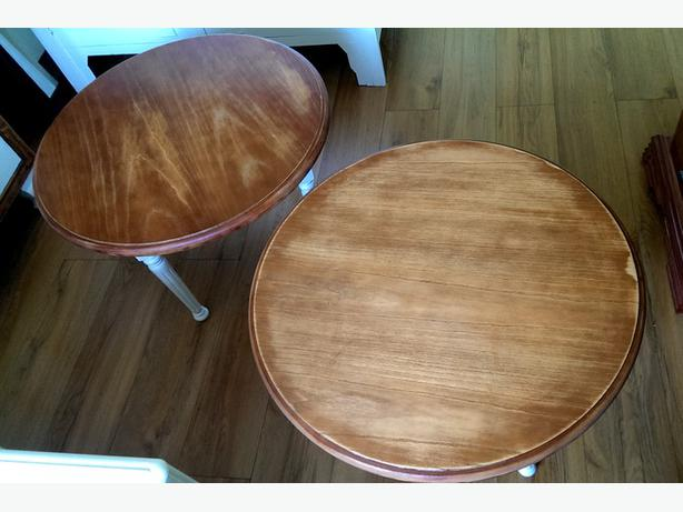 Shabby Chic Round Coffee Tables 40 Each Can Split Dudley Dudley