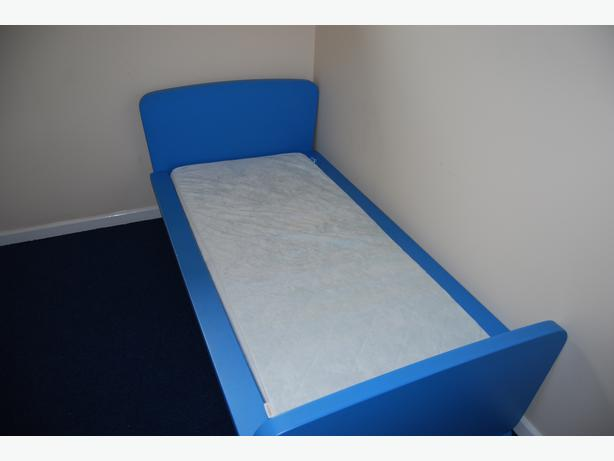 blue ikea mammut bed mattress wolverhampton walsall. Black Bedroom Furniture Sets. Home Design Ideas