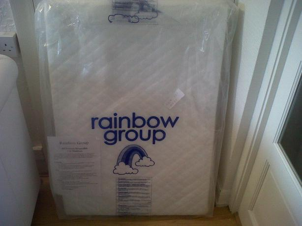 buy popular 1add3 00dc7 Rainbow Group Mini Baby Cot Bed Mattress NEW Great Barr, Dudley