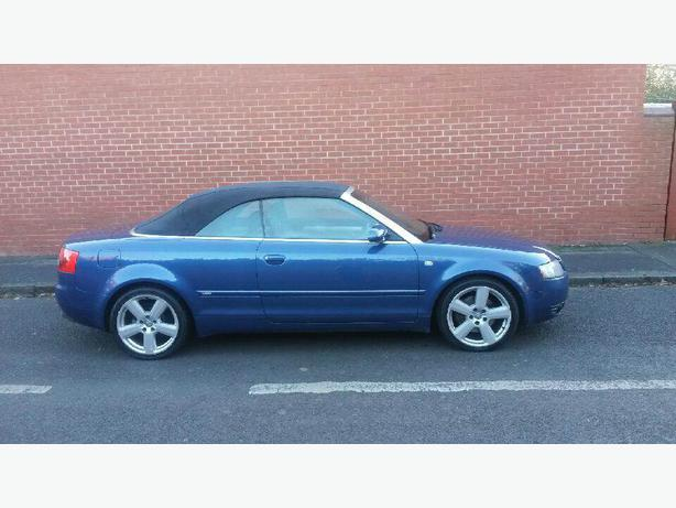 2005 audi a4 convertible 1 8t s line brierley hill dudley. Black Bedroom Furniture Sets. Home Design Ideas