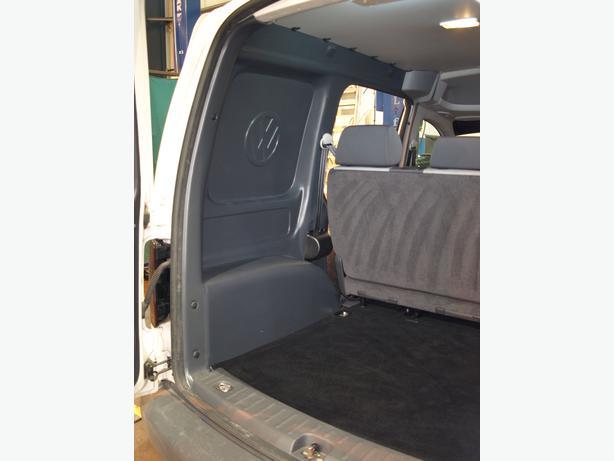Brand New VW Caddy Van Rear Seat Conversion