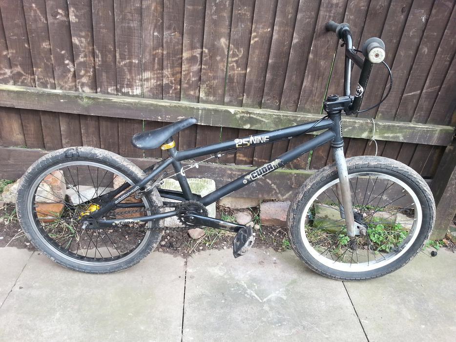 Cuda Bmx Stunt Bike Good Condition All Working Not