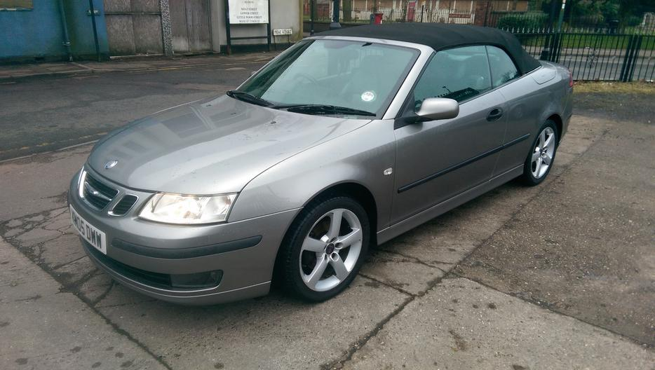 2005 saab vector convertible willenhall dudley. Black Bedroom Furniture Sets. Home Design Ideas