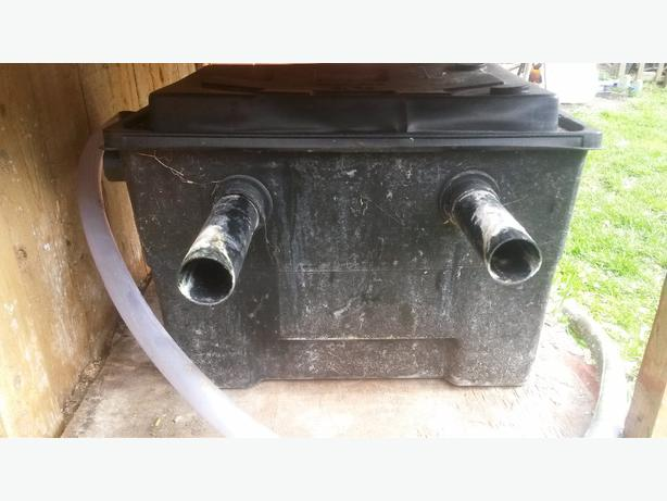 Uv pump and filter box walsall sandwell mobile for Used pond filter for sale