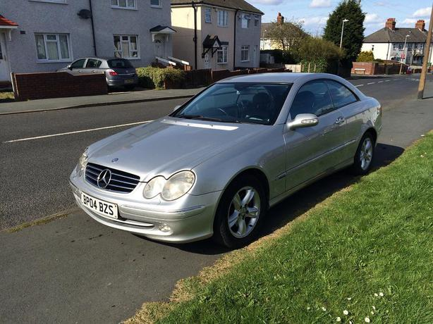 mercedes clk 270 cdi diesel reg 2004 face lift dudley wolverhampton. Black Bedroom Furniture Sets. Home Design Ideas