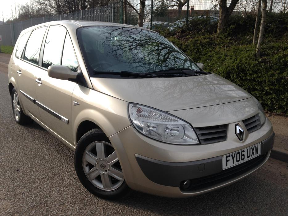 renault grand scenic 2006 2 0 automatic dynamique low mileage 7 seater other dudley. Black Bedroom Furniture Sets. Home Design Ideas