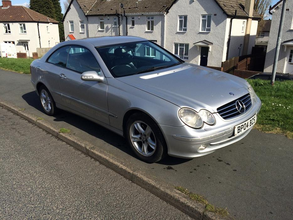 mercedes clk 270 cdi diesel reg 2004 face lift dudley dudley. Black Bedroom Furniture Sets. Home Design Ideas