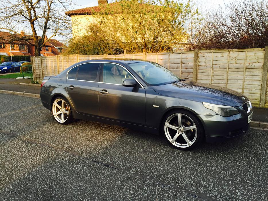 bmw e60 525d se auto with sunroof and aircon wednesfield dudley. Black Bedroom Furniture Sets. Home Design Ideas