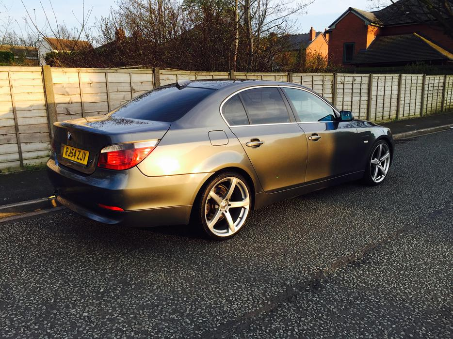 bmw e60 525d se auto with sunroof and aircon wednesfield wolverhampton. Black Bedroom Furniture Sets. Home Design Ideas