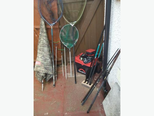 Fishing gear sandwell dudley for Used fishing equipment for sale