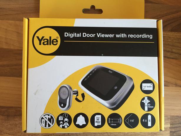 Yale digital spy viewer recorder