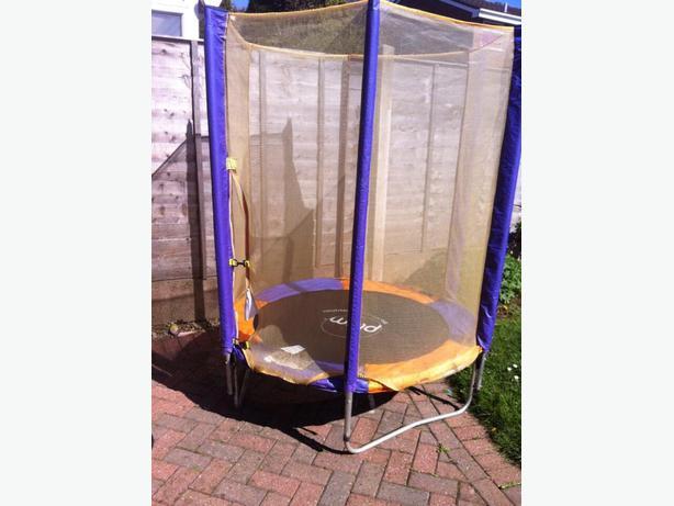5ft Trampoline Hardley Used