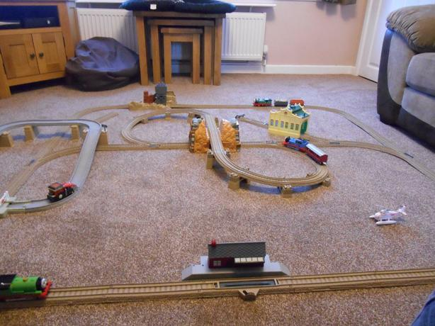 thomas the tank engine track instructions