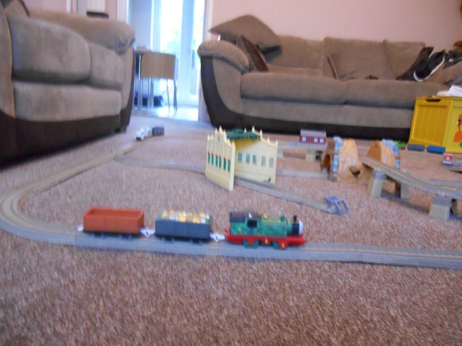 thomas the tank engine train set instructions