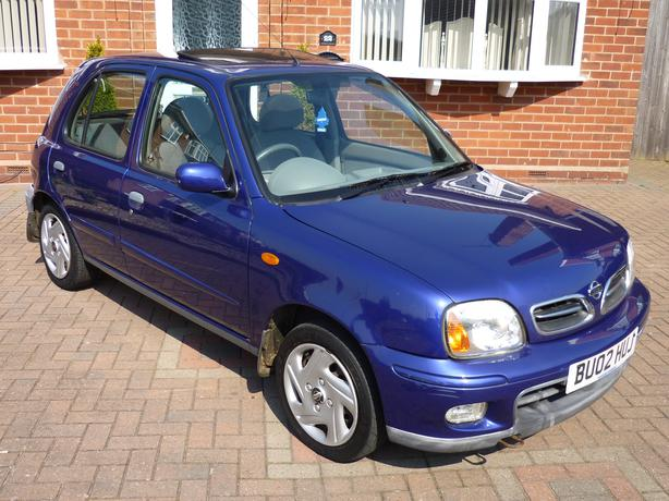 2002 nissan micra 1 0 ltr 5dr kingswinford dudley. Black Bedroom Furniture Sets. Home Design Ideas