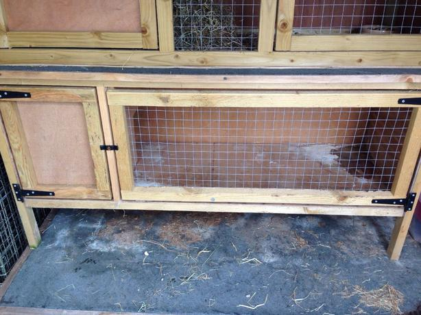 Rabbit Guinea Pig Hutch And Run For Sale Oldbury Dudley