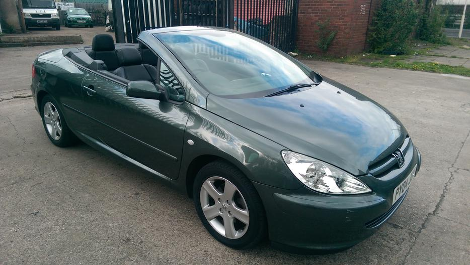 peugeot 307 convertible willenhall sandwell. Black Bedroom Furniture Sets. Home Design Ideas