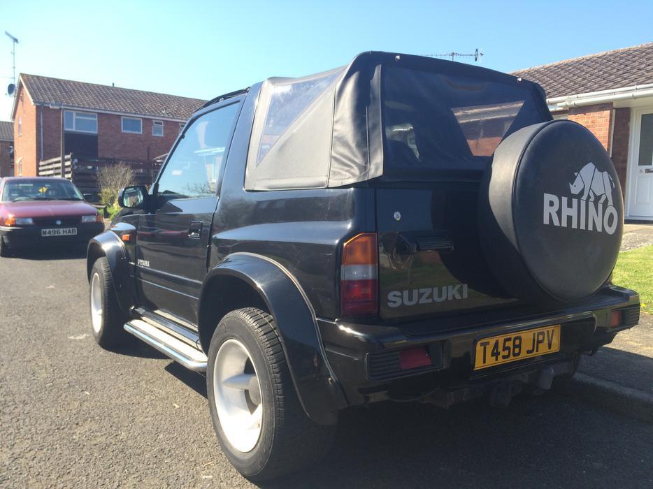 Suzuki Vitara Soft Top 1 6 8v Fat Boy 1999 Stourbridge Dudley