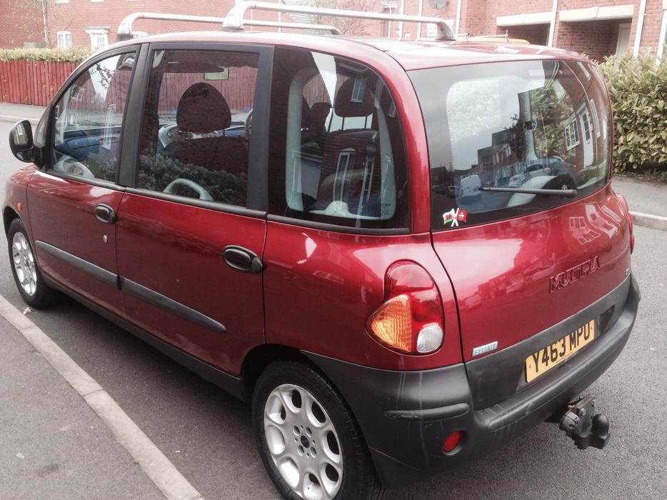 fiat multipla 1 9 diesel 2001 greate family car sandwell dudley. Black Bedroom Furniture Sets. Home Design Ideas