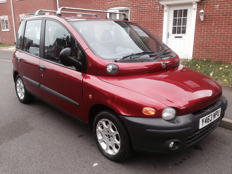 fiat multipla 1 9 diesel 2001 greate family car sandwell walsall. Black Bedroom Furniture Sets. Home Design Ideas