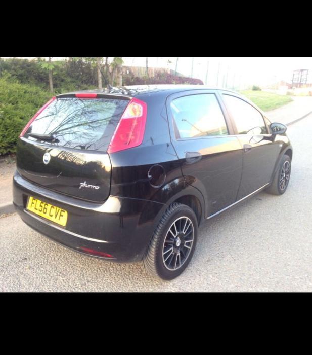(56) NEW SHAPE FIAT GRANDE PUNTO 5dr BLACK OTHER, Dudley