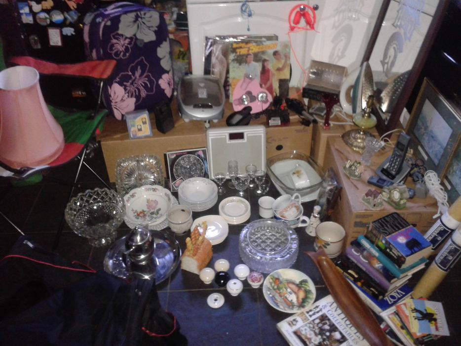 Joblot Of Mixed Items Household And Bric A Brac Some