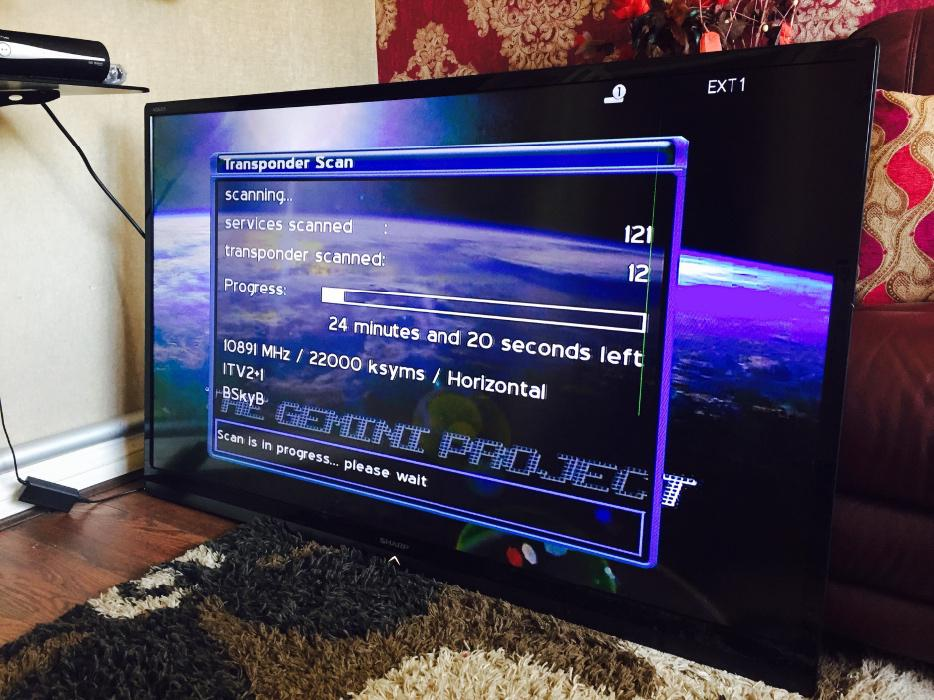 how to set up freeview plus on samsung tv