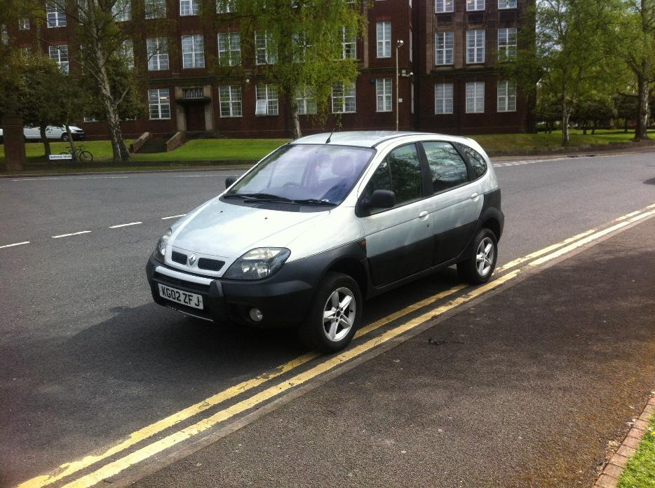 2002 renault scenic rx4 81000 miles 12 mts mot dudley dudley. Black Bedroom Furniture Sets. Home Design Ideas