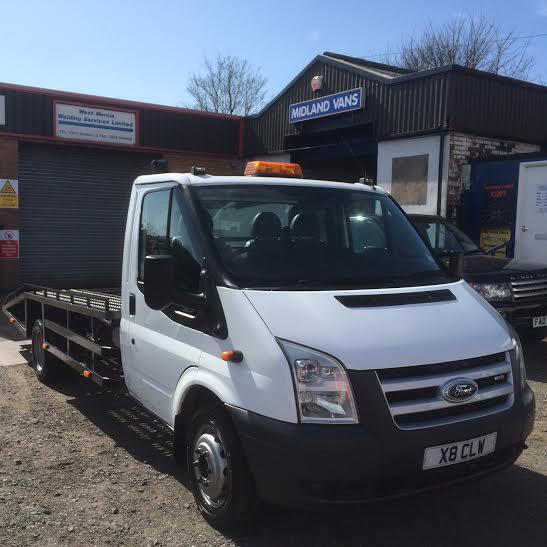 Ford Transit 100 T350 RWD Recovery Vehicle 2008 58 WALSALL