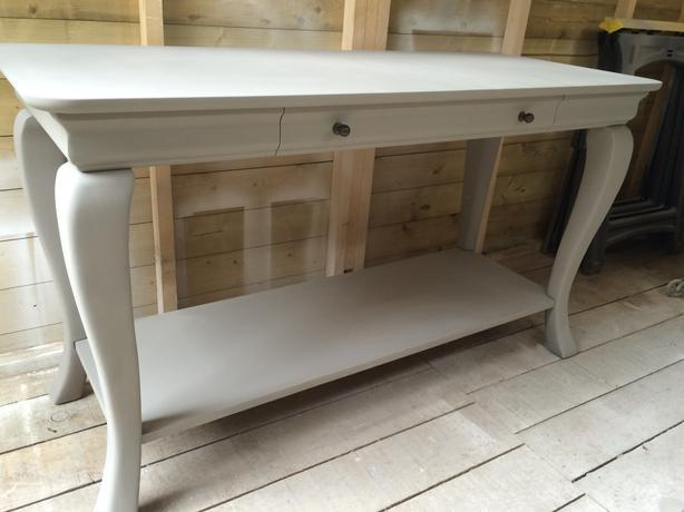 Large Painted Tv Unit Console Table