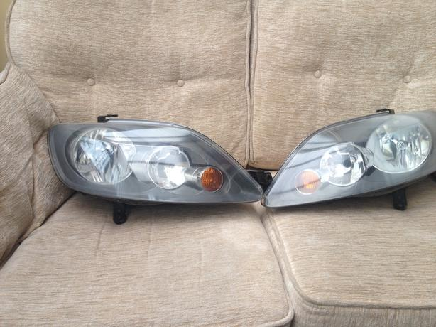golf plus 2005 2009 headlights genuine vw pair. Black Bedroom Furniture Sets. Home Design Ideas