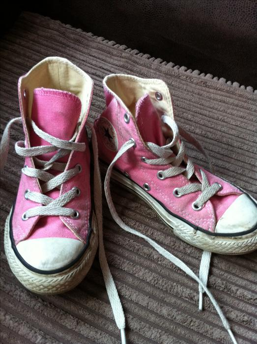 Girls Size 12 Converse Pink Coseley Walsall