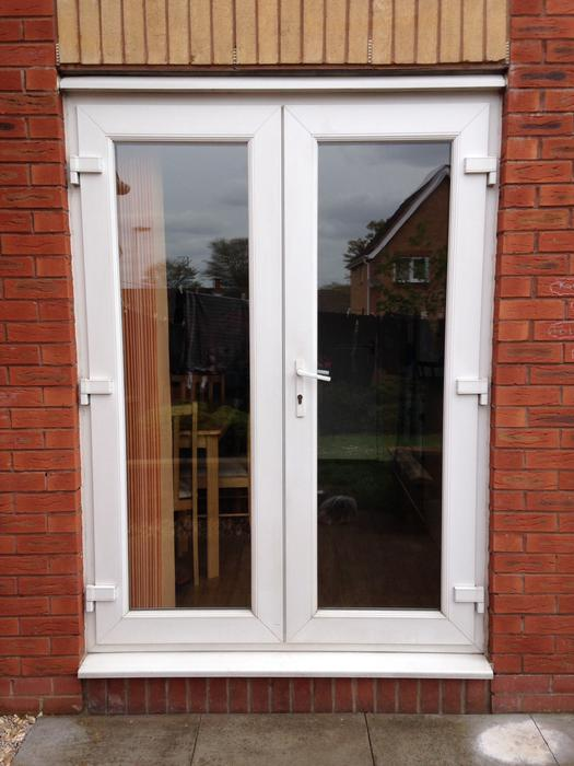 Upvc patio door window wolverhampton dudley for Used patio doors