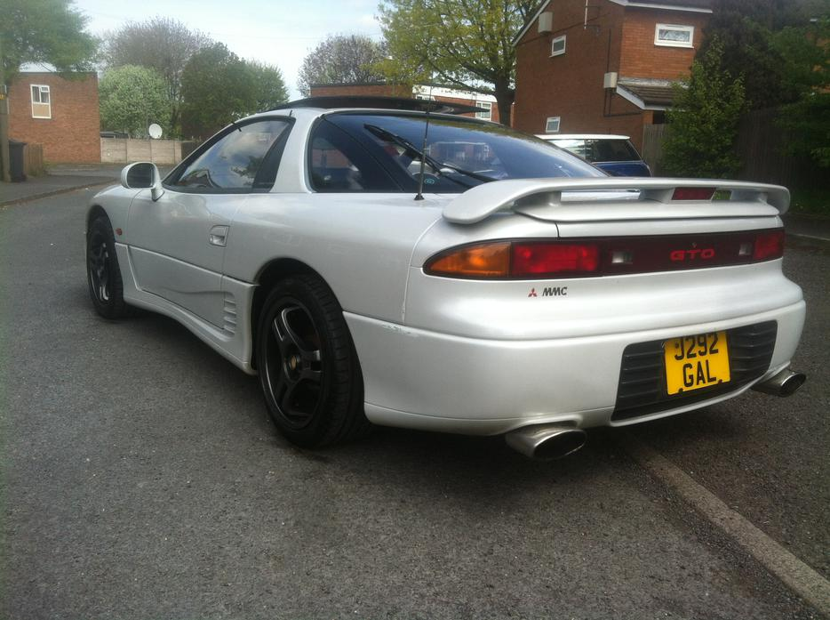 1992/J Mitsubishi GTO 3.0 Twin Turbo Manual white Smethwick, Sandwell