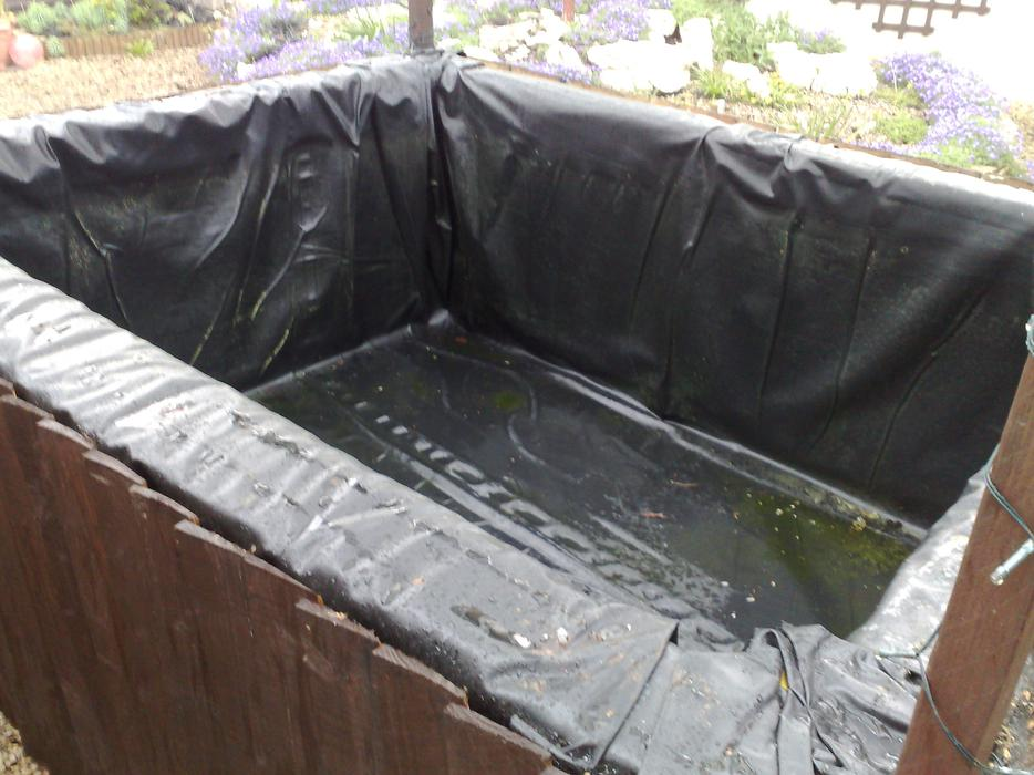 Pond liner west bromwich dudley for Cheap pond liner