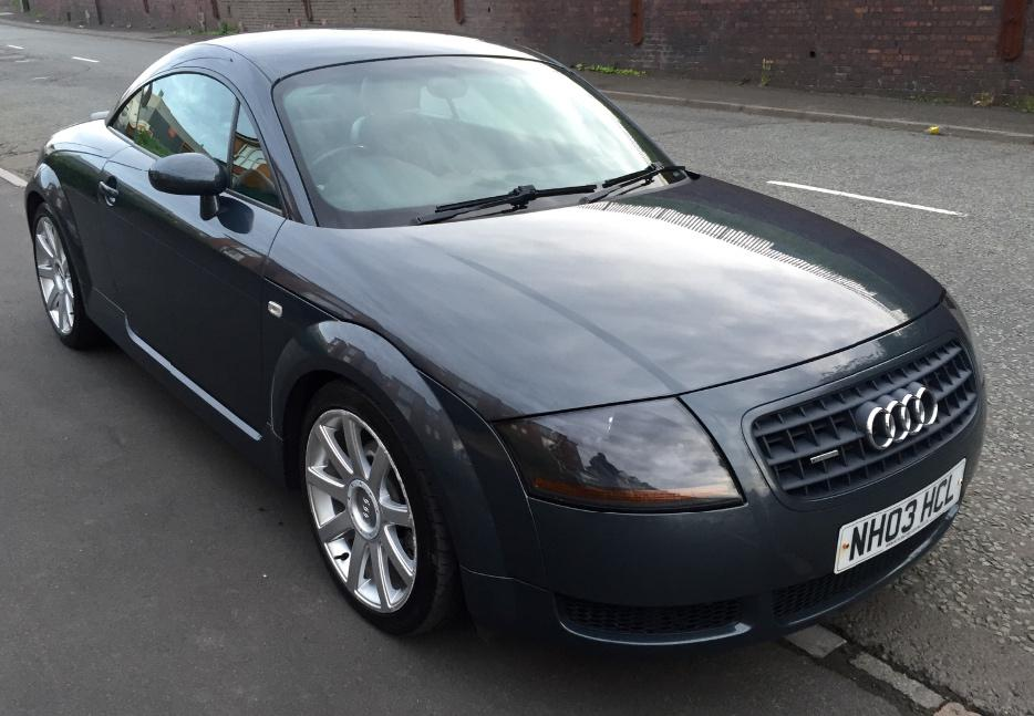 2003 03 audi tt 1 8t 180 quattro stourbridge wolverhampton. Black Bedroom Furniture Sets. Home Design Ideas