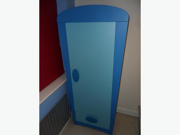 Ikea Mammut Blue Kids Wardrobe Stourbridge Sandwell