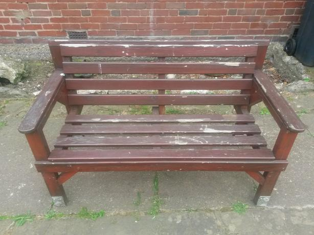 Wooden Benches X 2 Other Wolverhampton