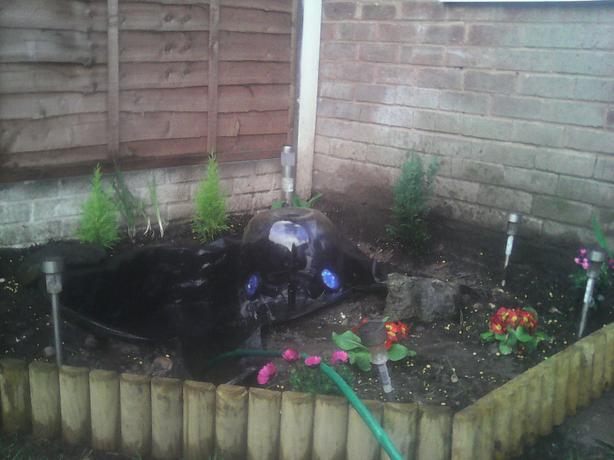 Outdoor aquarium walsall dudley for Outdoor fish tank filter