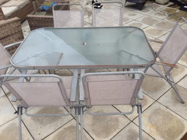 6 Seater Table And Chairs Bilston Dudley