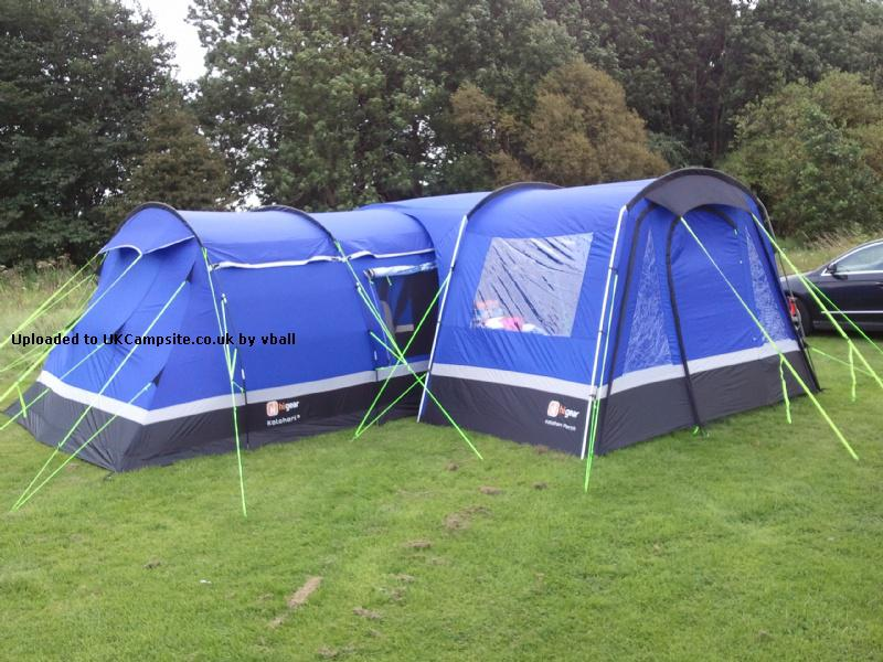 Kalahari 8 Man Tent And Porch Plus Extras Now Selling