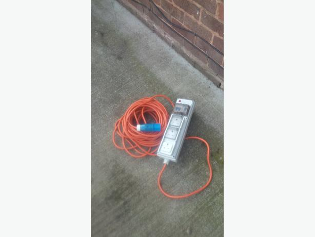 hook up lead for camping Maypole camping and caravan site mains extension hook up leads £1495 compare.