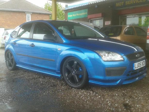 Electric Blue Ford Focus St Lookalike 1 4climate Petrol