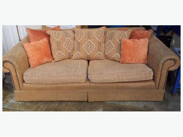 Cost 2 250 modern large 3 seater stud studded sofa for Sofa with studs