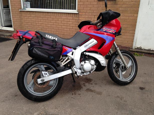 yamaha tdr 125 super moto 1995 n reg bilston wolverhampton. Black Bedroom Furniture Sets. Home Design Ideas