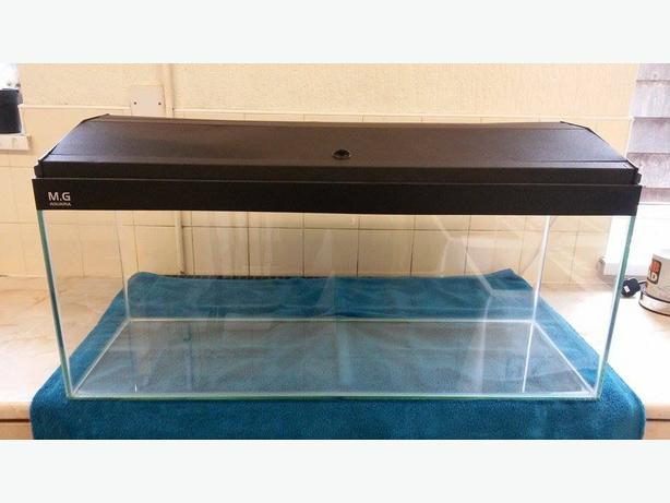 Fish tank hood for sale delivery possible rowley regis for Fish tank hoods