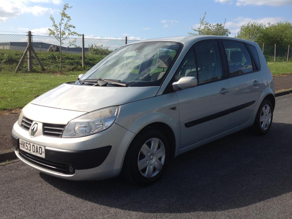 renault scenic 1 6 16v expression 2004 service history great condition dudley wolverhampton. Black Bedroom Furniture Sets. Home Design Ideas