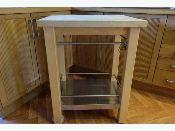 butchers block kitchen trolley willenhall walsall