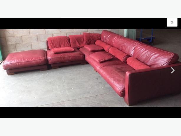  Log In needed £429 · £3000 DFS California Huge Red Corner Sofa WE DELIVER  UK WIDE