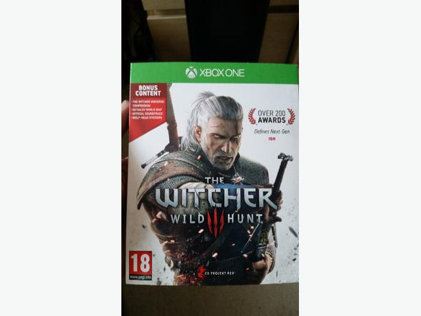 the witcher 3 wild hunt xbox one game oldbury wolverhampton. Black Bedroom Furniture Sets. Home Design Ideas